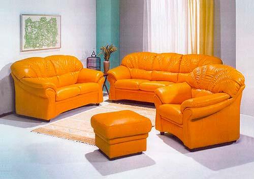 Для мебели с округлыми формами используют более тонкую кожу