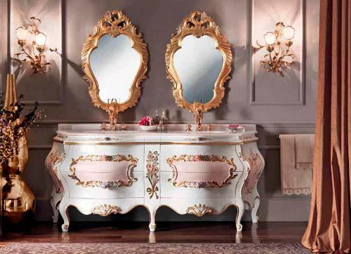 Испанская мебель в стиле рококо