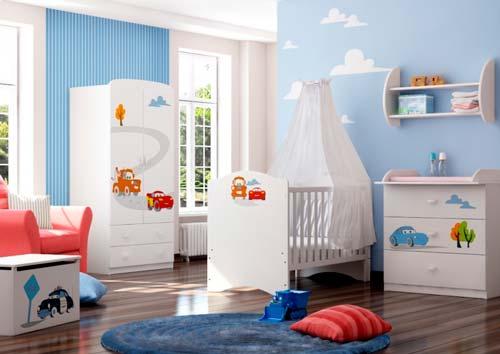 Первая мебель для новорождённого.