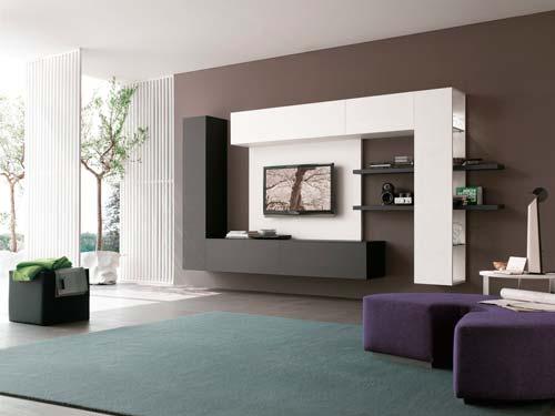 Стенки могут быть изготовлены под любой стиль помещения
