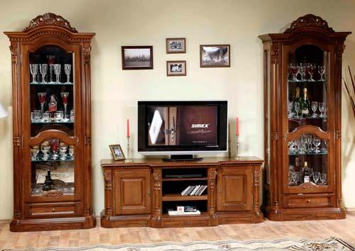 Классическая мебель из дерева издавна пользуется спросом