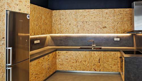 Мебель из плит osb-3 создаст неповторимую атмосферу в вашем доме