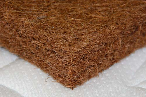 В качестве наполнителя может использоваться кокосовое волокно