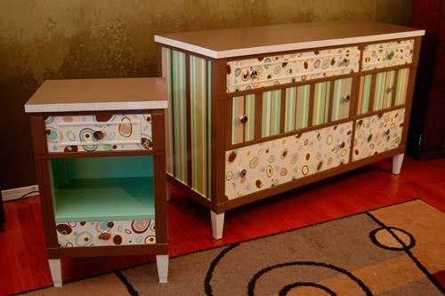 Как декорировать мебель своими руками?