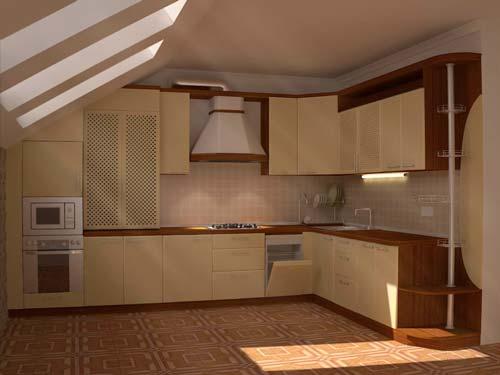 На этапе проектирования мебели можно подобрать цвет и материал