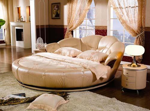 Круглая кровать — это бесподобно!