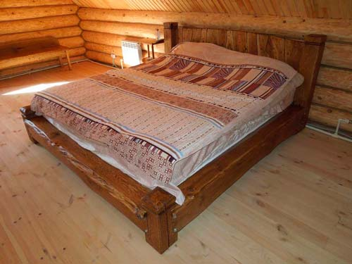 Кровать, которую вы сделаете своими руками, будет особенно ценной