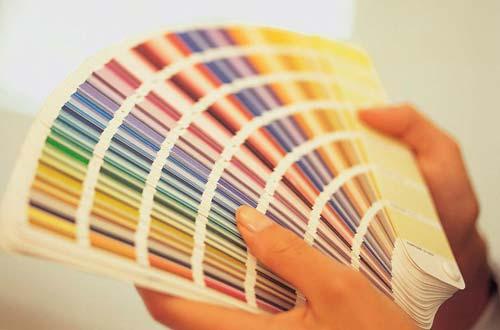 Выберите цвет для покраски заранее