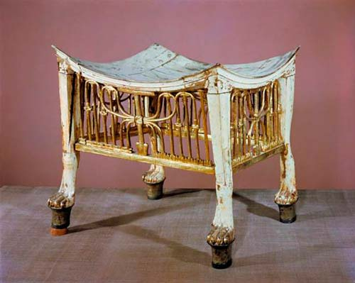 История мебели в Древнем Египте.