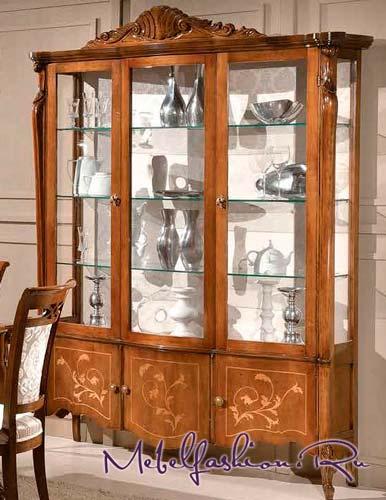 Классический вариант - витрина Tarocco Sergio 5414 в магазине mebelfashion.ru