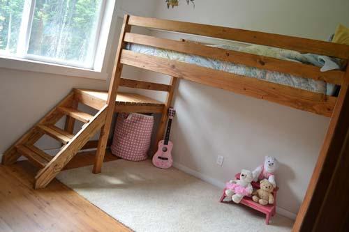 Вы можете сделать кровать для ребенка самостоятельно