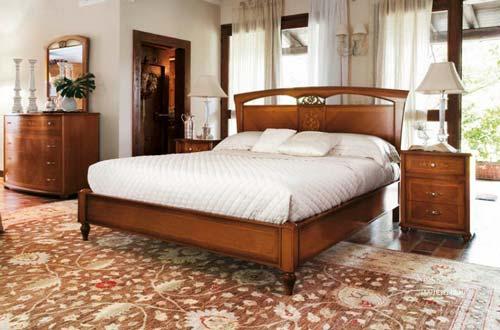 Многие люди останавливают выбор на кровати из массива дерева