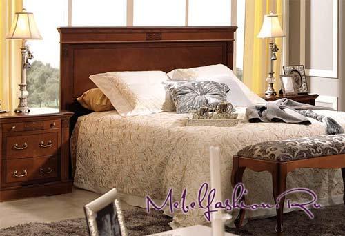 Двуспальная кровать Panamar 850/450/470.200.P в магазине mebelfashion.ru