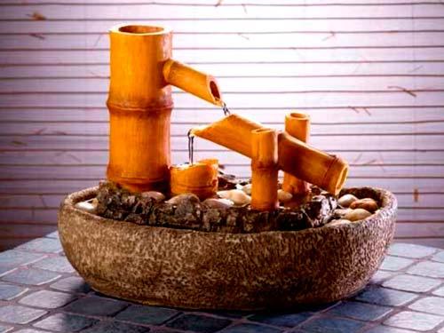 Комнатный декоративный фонтан своими руками.