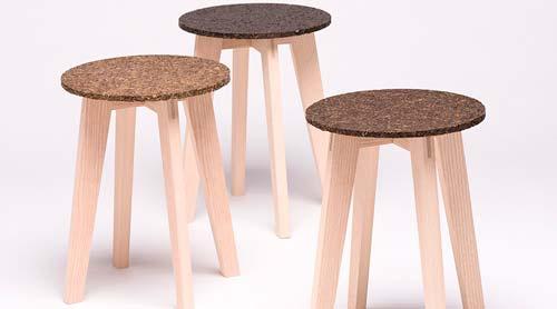 Мебель из водорослей: необычное изобретение дизайнера из Германии.