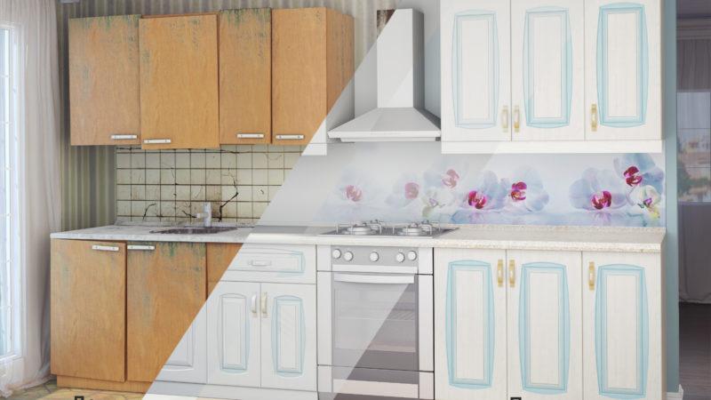 Ремонт кухонной мебели.