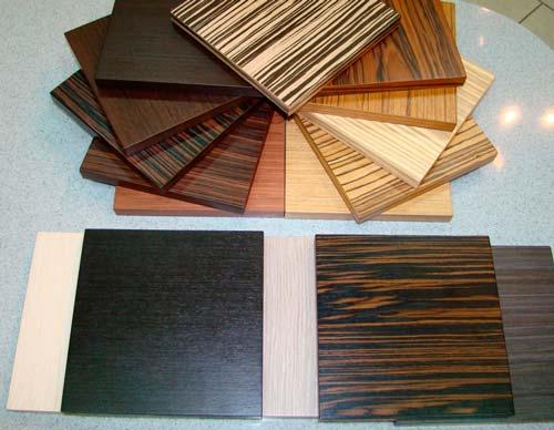 Файн-лайн - реконструированный шпон, изготавливаемый из натуральной древесины