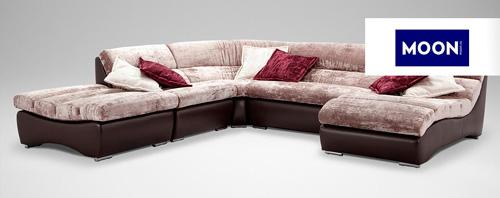 Подвижные модули нового дивана позволяют сильно изменять его внешний вид