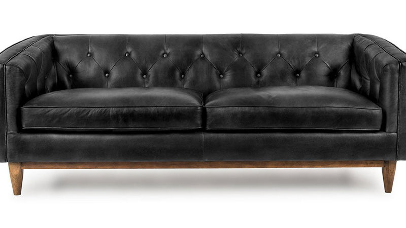 Как ухаживать за мебелью из искусственной кожи?
