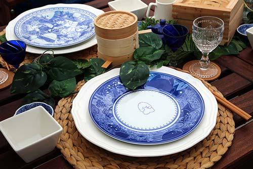 В Сингапуре появилась необычная посуда.