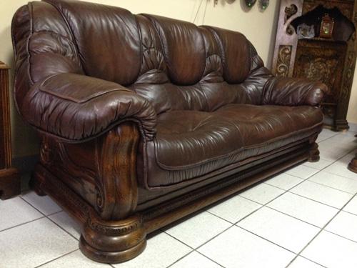 Как ухаживать за кожаной мебелью?