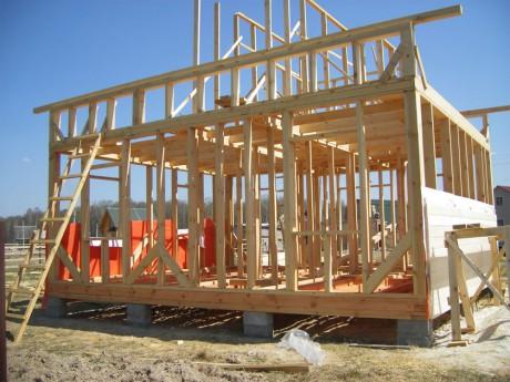 Строительство дома каркасного типа