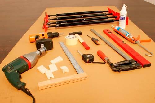 Основные инструменты для монтажа