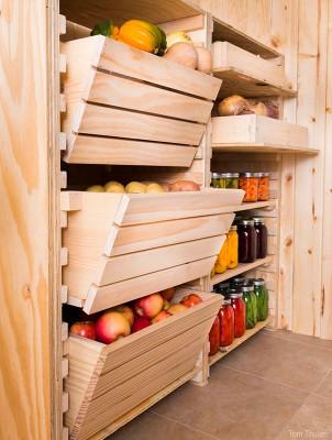 Можно обустроить подвал под хранение продуктов